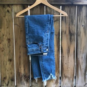 LEVI'S Wedgie skinny blue jeans size 27